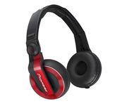 Pioneer HDJ500 RED DJ Headphones