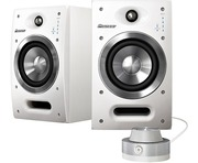 Pioneer SDJ05 Active Studio Monitor Speakers White