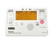 Korg Tuner And Metronome TM-50 Powder White