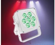 LEDJ Slimline 7Q5 RGBW (White Housing)