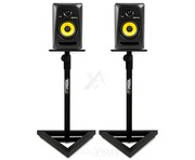 Gorilla Studio Monitor Speaker Stands PAIR