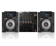 Pioneer CDJ900 Nexus Pair & DJM850 Black Package