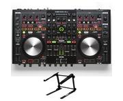 Denon MC6000 MK2 DJ Controller & Gorilla Laptop Stand