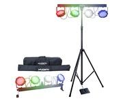 Kam LED Partybar V2 LED DMX Par Kit