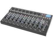 Citronic CM10-Live Mixer 10 Channel Compact mixer W/Delay+USBSD player