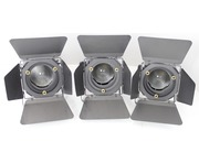 3 X DTS Theatre Spot Lights 300/500 with Fresnel Lens