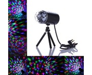 Rotating RGB LED Disco Party Light
