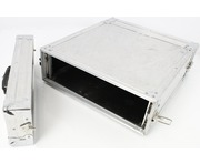 5Star 3U Amplifier Case (Stucco Aluminium Silver)