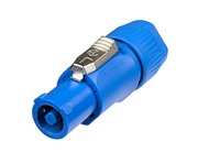 Neutrik NAC3FCA PowerCON A-type Cable Connector Blue