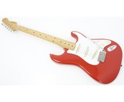 Fender 50's Stratocaster Mexican Classic Series Fiesta Red Electric Guitar