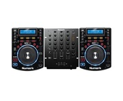 Numark NDX500 & Numark M4 Mixer Package