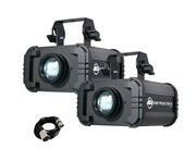 2x American DJ Gobo Projector IR with DMX Cable