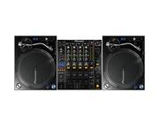 Pioneer PLX-1000 & Pioneer DJM850 Mixer Package