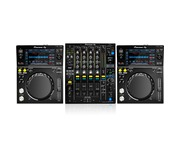 Pioneer XDJ-700 and DJM900-NSX2 Package