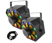 Chauvet Swarm Wash FX (Pair) with Free DMX Cable
