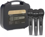 Stagg Set of 3 Dynamic Handheld Vocal Microphones