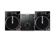 Reloop RP-4000M Turntables & Numark M101 Mixer Package