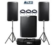 Alto 2x TS212 Speakers & 1x TS218S Sub Package