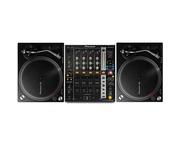 Pioneer PLX-500 & DJM 750 Turntable Package