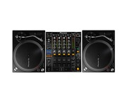 Pioneer PLX-500 & DJM 850 Turntable Package