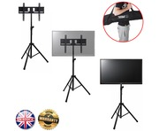 "Gorilla GTV-200 Portable Tripod TV Floor Stand for 37"" to 51"" LCD/LED"