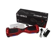 M-Seg Smart Glider Scooter Hoverboard Volcano Red