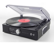 Steepletone ST938 BK BT Record Player Turntable with Bluetooth