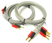 QED Silver Anniversary Single to Bi-Speaker Cable (2 x 2.5m)