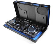 5Star Pioneer CDJ-350 DJM-350 Coffin Case (Blue)