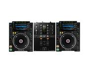 Pioneer CDJ-2000 NXS2 & DJM-250 MK2 Package