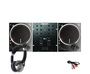 Numark NTX1000 Turntables with M101 USB Mixer & HF125 Headphones