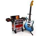 Gorilla Musician Tech Trolley Gig Case inc Handle/Wheels (Union Jack)