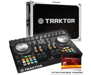 Native Traktor Kontrol S4 MK2 with Traktor Kontrol S4 Hard Flight Case