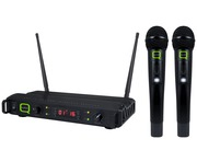 Q-Audio QWM 1940 V2 HH Wireless Microphone System