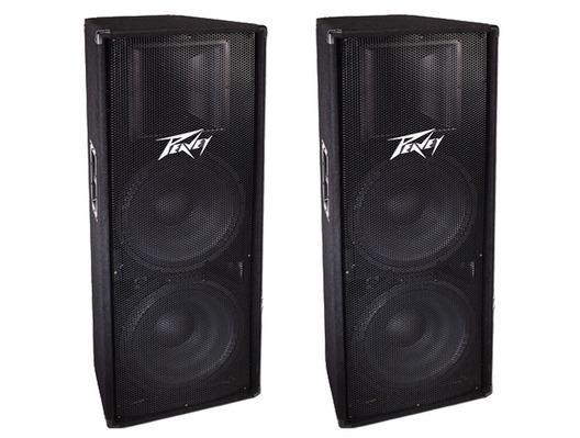 Brand New Peavey Pv215 Passive Pa Disco Dj Speakers Pv 215