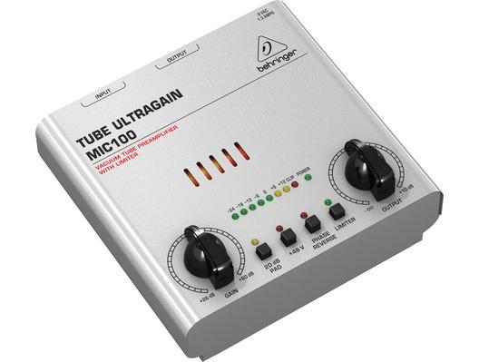 Behringer Tube Preamp : behringer ultra gain mic100 tube microphone preamp whybuynew ~ Hamham.info Haus und Dekorationen