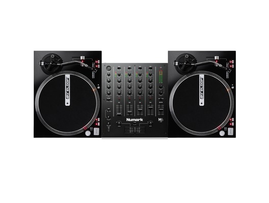 Reloop RP-4000M Turntables & Numark M6 USB Mixer Package