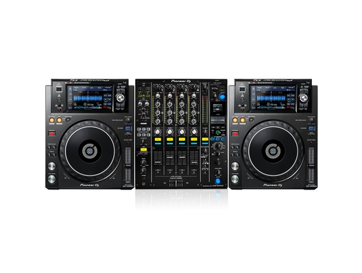 Pioneer XDJ-1000 MK2 & Pioneer DJM900-NXS2